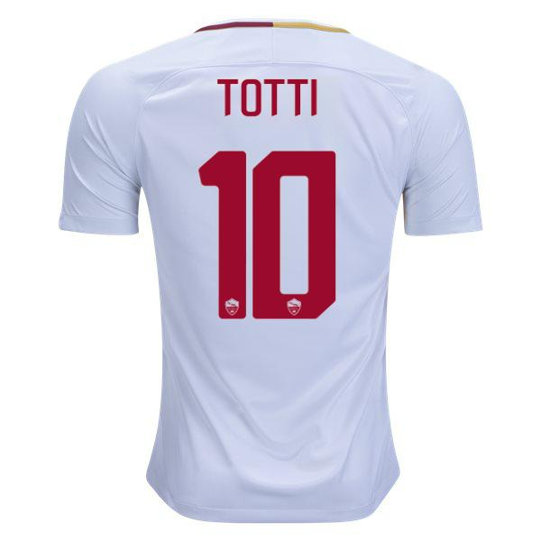 AS Roma 17/18 Away Jersey Totti #10