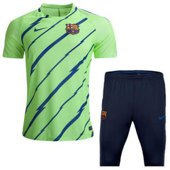 Barcelona 2017 Ghost Green Training Kit - IN STOCK NOW - TNT Soccer Shop