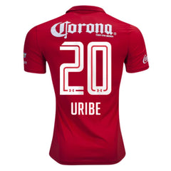 Toluca 16/17 Home Jersey Uribe #20 - IN STOCK NOW - TNT Soccer Shop