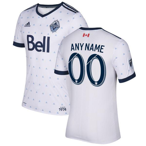 Vancouver Whitecaps 2017 Home Jersey Personalized Jersey TNT Soccer Shop