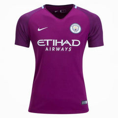 Man. City 17/18 Away Womens Jersey