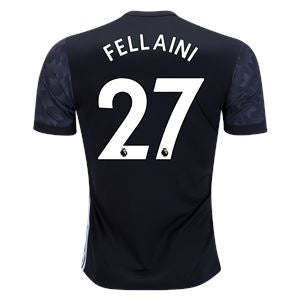 Man. United 17/18 Away Jersey Fellaini #27 READY TO SHIP! Jersey TNT Soccer Shop