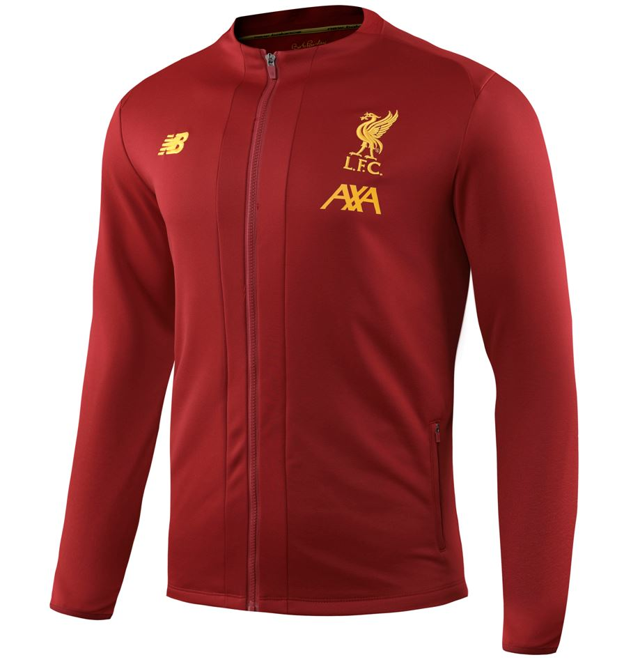 Liverpool 19/20 Red Presentation Jacket Jacket TNT Soccer Shop