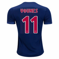 Ajax 17/18 Away Jersey Younes #11 - IN STOCK NOW - TNT Soccer Shop