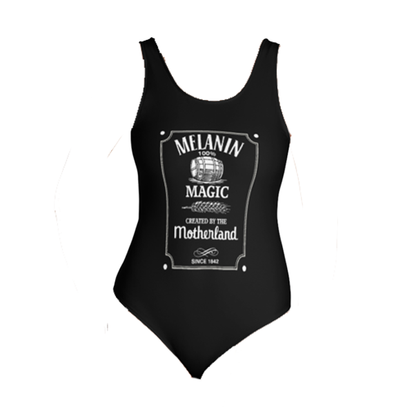 Melanin Whiskey One-Piece Swimsuit
