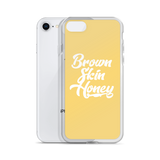 Brown Skin Honey iPhone Case