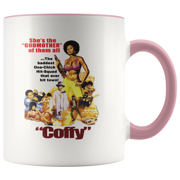 Vintage Coffy Blaxploitation Color-Block Mug