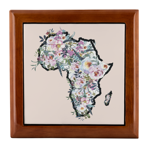 Flowers in Africa Jewelry Box