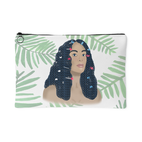 Don't Touch My Hair Solange Canvas Pouch