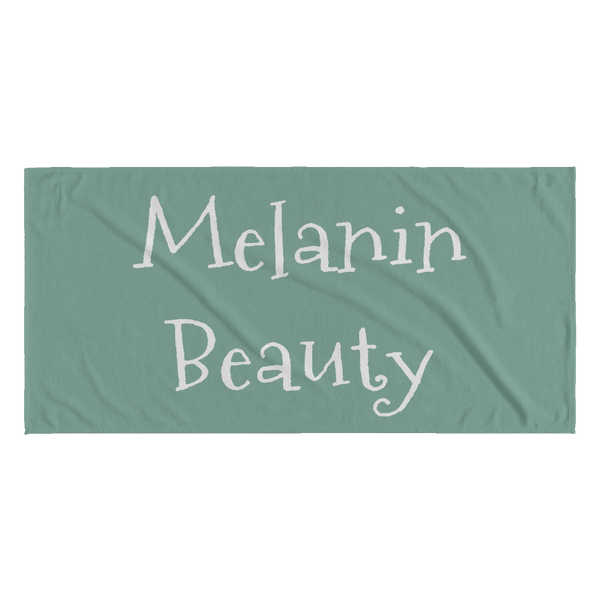Melanin Beauty Beach Towel