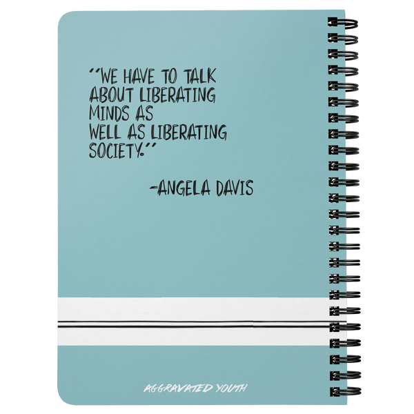 Angela Davis Spiral Notebook