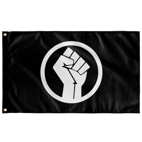 Black Power Fist Flag