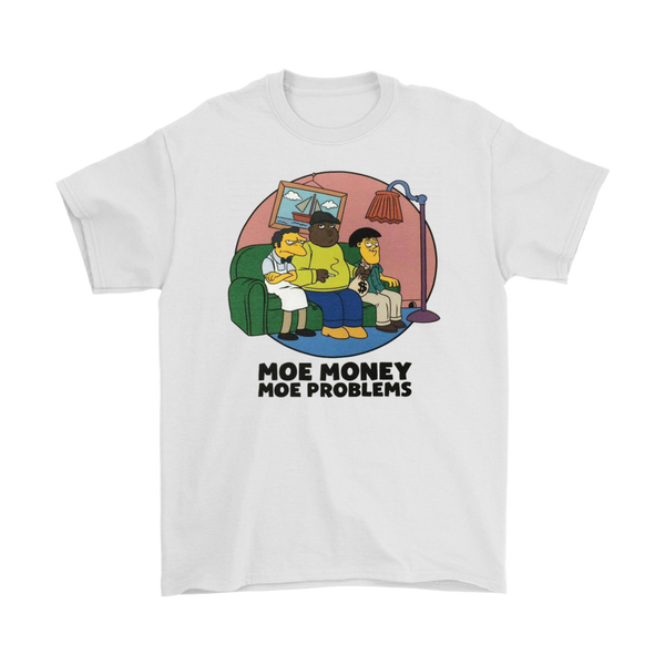 Moe Money Moe Problems Vintage Hip-Hop T-Shirt