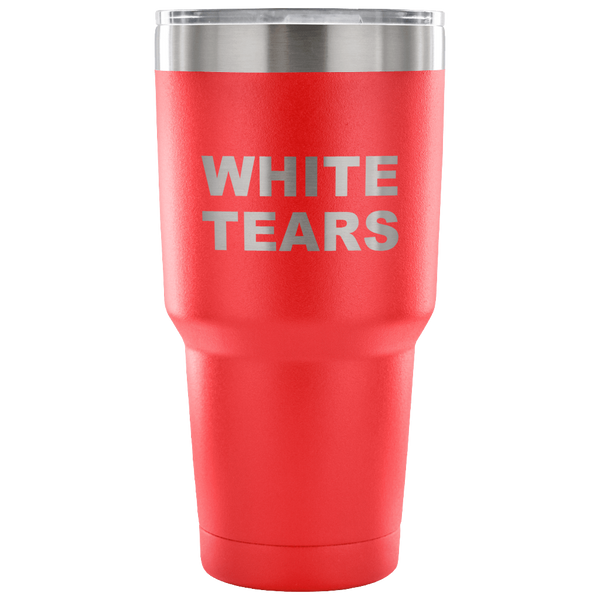 White Tears Insulated Travel Mug