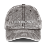 Decolonize Washed Vintage Dad Hat