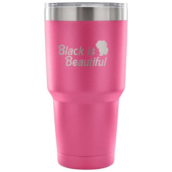 Black Barbie Insulated Travel Mug