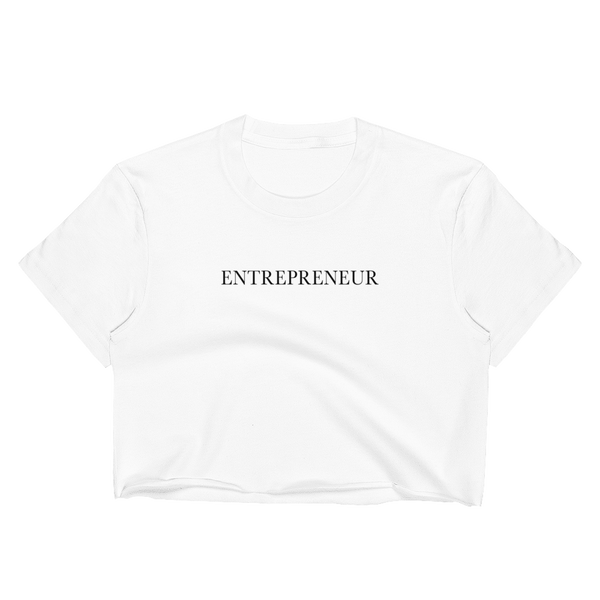 Entrepreneur Crop Top