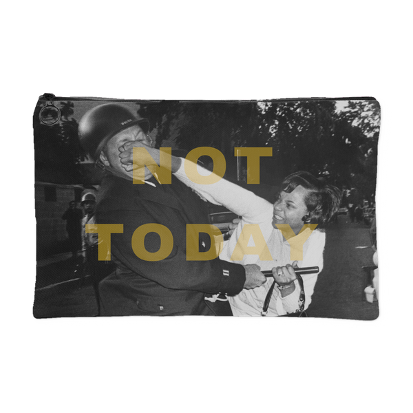 Not Today Canvas Pouch