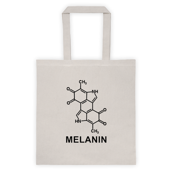 Melanin Chemical Equation Reusable Tote