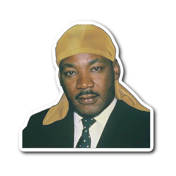 Hood MLK Sticker