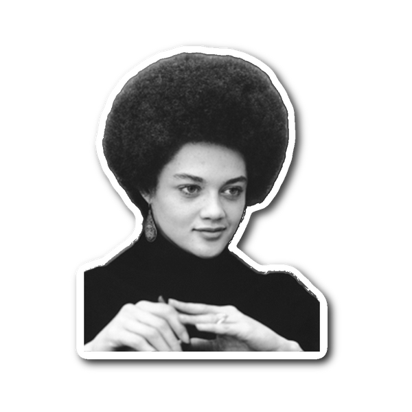 Kathleen Cleaver Sticker