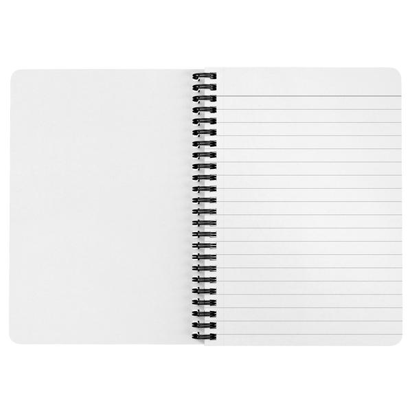 Women of Jet Magazine Spiral Notebook
