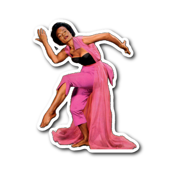 Eartha Kitt Sticker