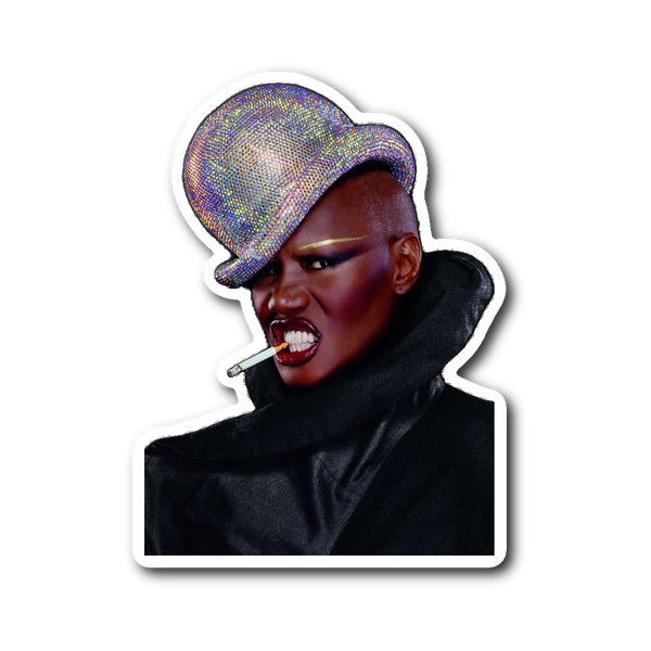 Grace Jones Sticker