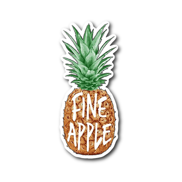 Fineapple Sticker