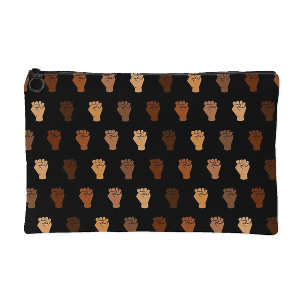 Black Power Fists Canvas Pouch