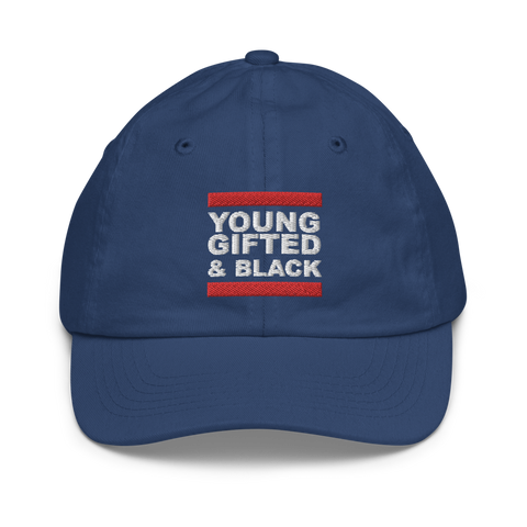 Young, Gifted & Black Youth Baseball Cap
