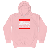 Young, Gifted & Black Kids Hoodie