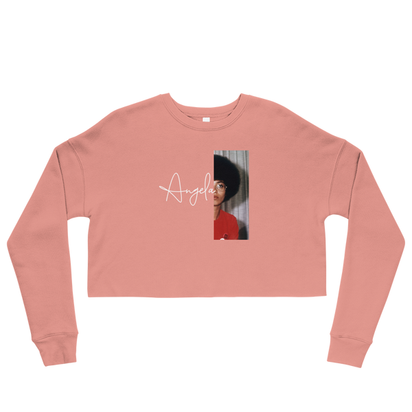Angela Davis Cropped Sweatshirt