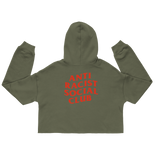 Anti Racist Social Club Cropped Hoodie