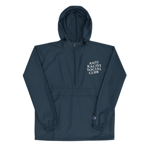 Anti Racist Social Club Embroidered Champion Pullover Jacket