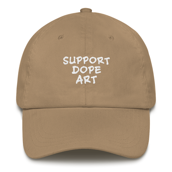 Support Dope Art Dad Hat