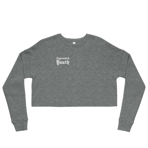 Black People Created Style Cropped Sweatshirt