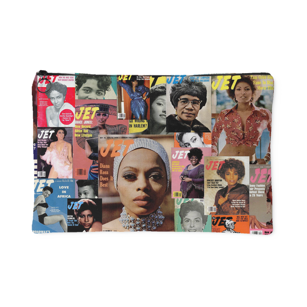 Women of Jet Magazine Canvas Pouch