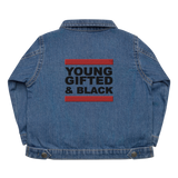 Young, Gifted & Black Baby Organic Denim Jacket