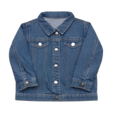 Black Girl Magic Baby Organic Denim Jacket