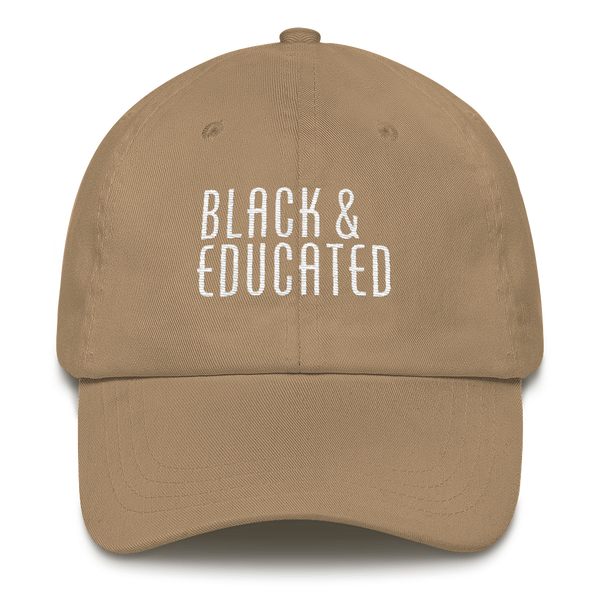 Black & Educated Dad Hat