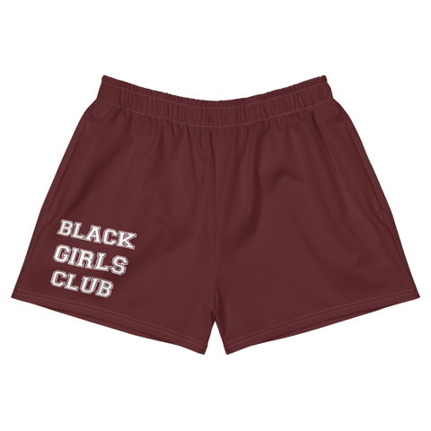Black Girl Club Women's Athletic Shorts