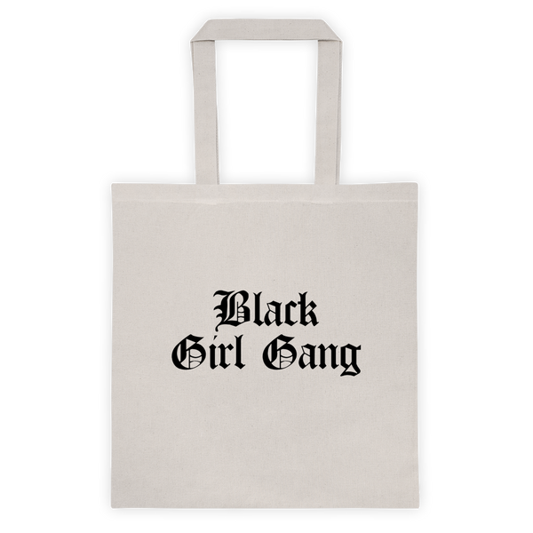 Black Girl Gang Reusable Tote