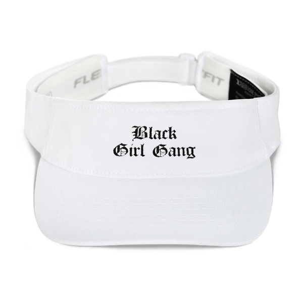 Black Girl Gang Visor Hat