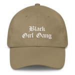 Black Girl Gang Dad Hat