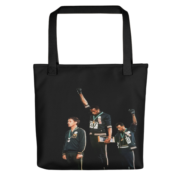 Black Power Olympics Reusable Tote