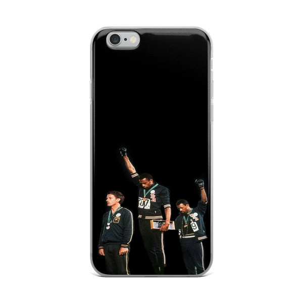 Black Power Olympics iPhone Case
