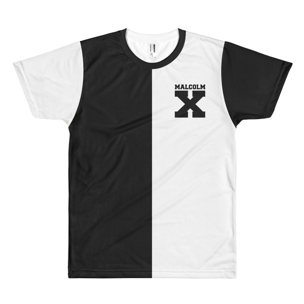 Malcolm X Vintage Style Baseball T-Shirt