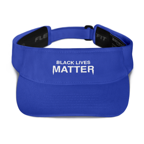 Black Lives Matter Visor Hat