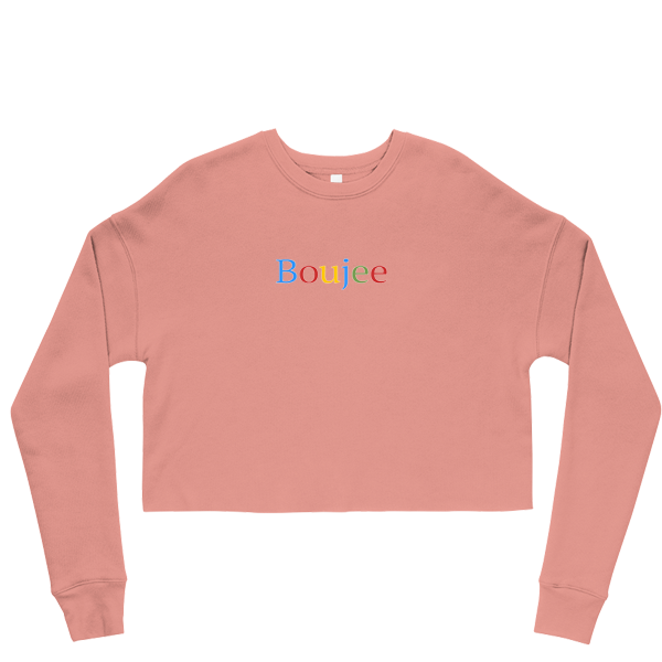 Boujee Cropped Sweatshirt